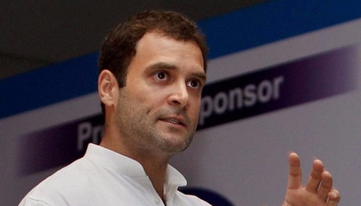 RAHUL GANDHI DARES INDIA