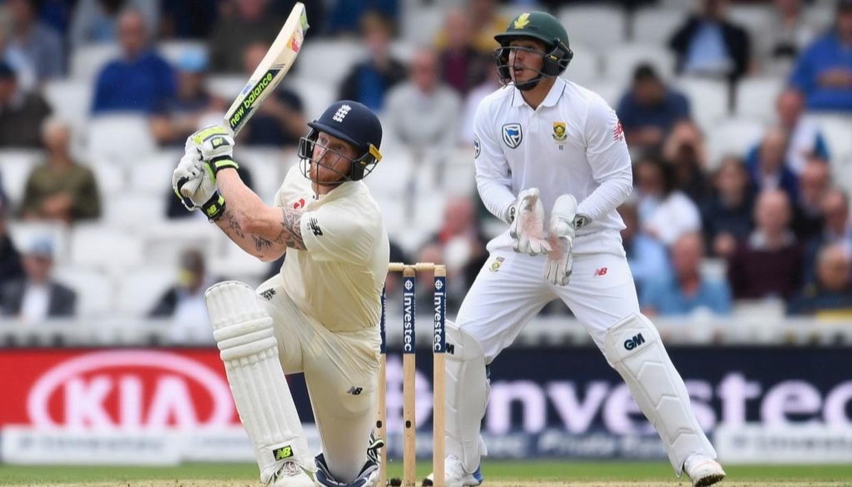 Stokes puts England in control