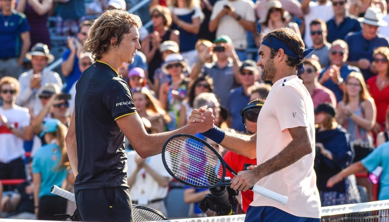 Zverev stuns Federer to win the Rogers Cup