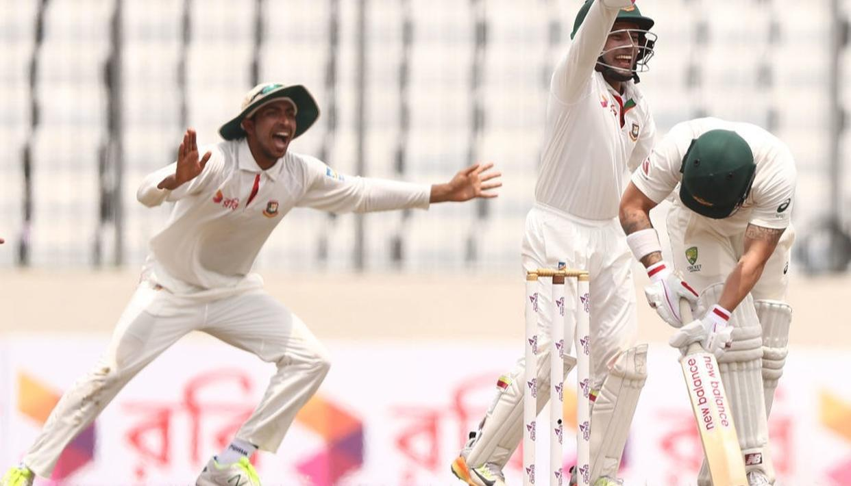 Bangladesh make history by beating Australia for the first time in Test cricket