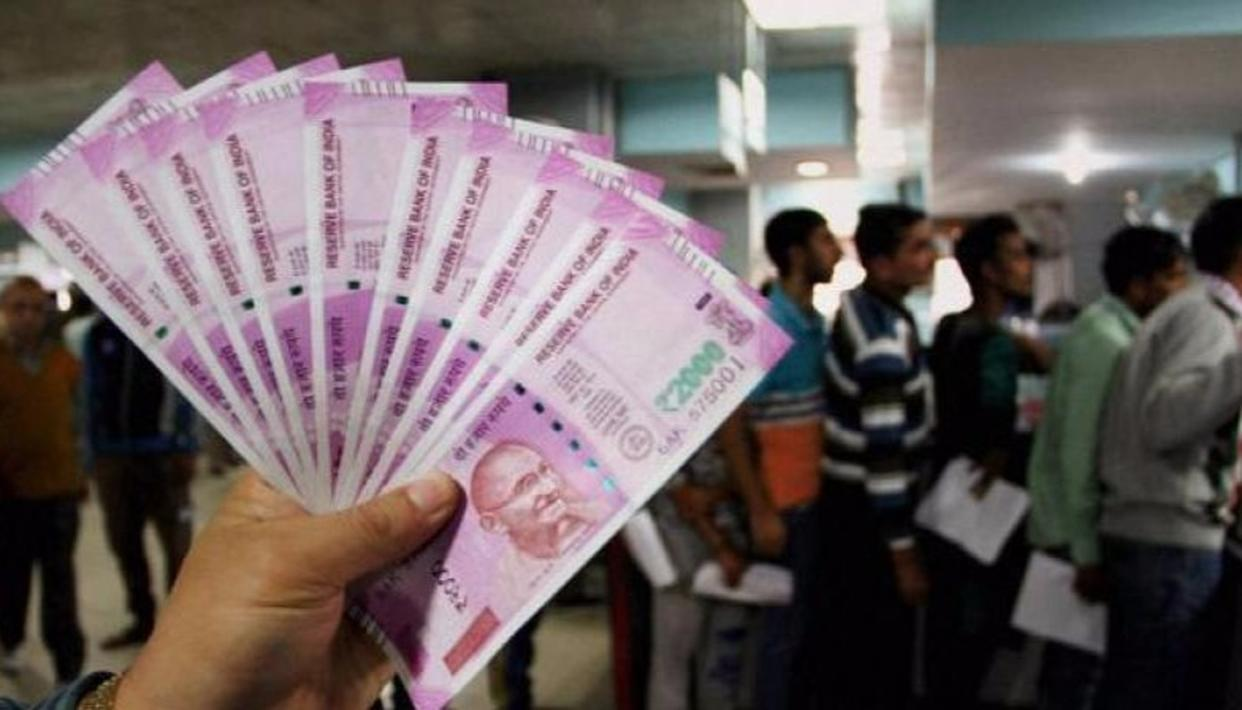 99% OF JUNKED NOTES RETURNED TO BANKS