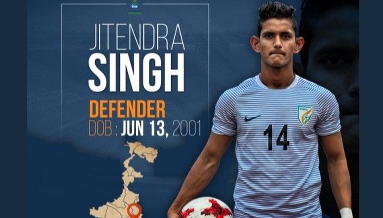 India U-17 defender Jitendra Singh says he doesn't regret choosing football over cricket