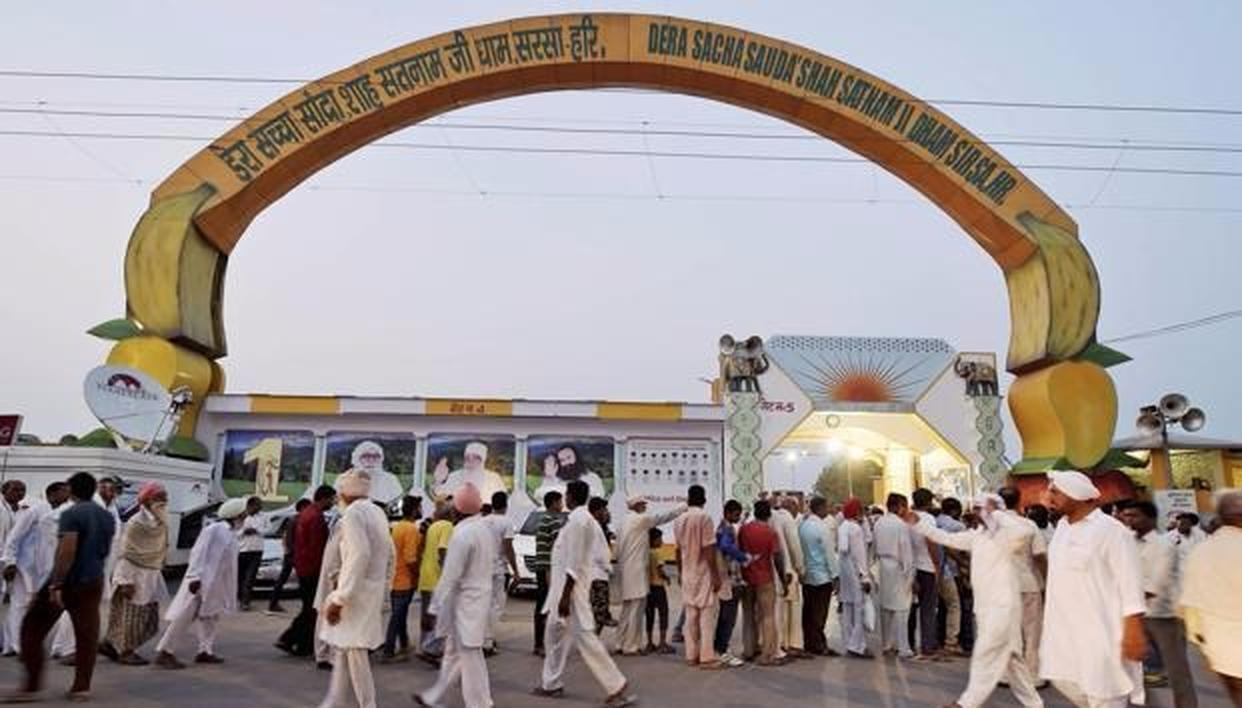 WHAT TUMBLED OUT OF MSG'S DERA DEN?