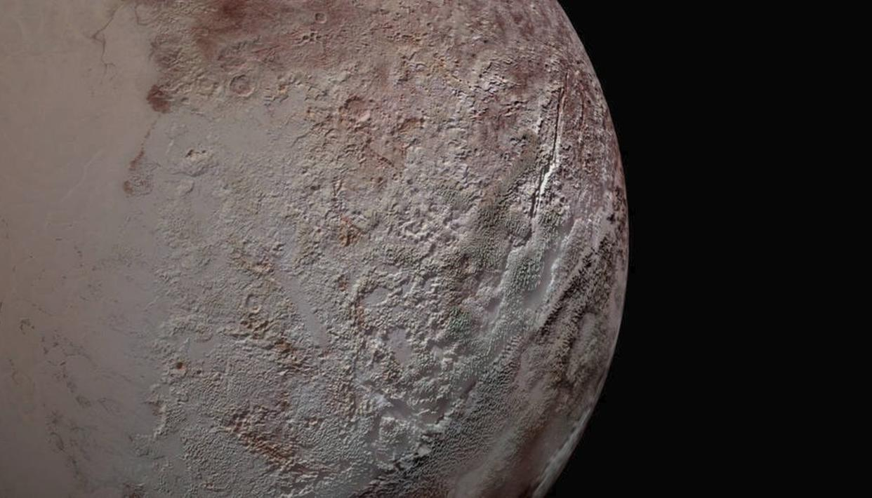 Pluto's 'bladed terrain' decoded