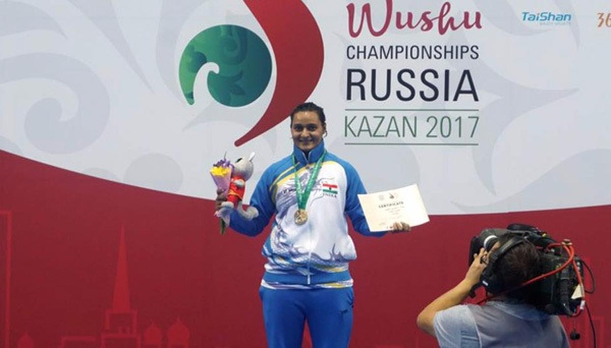 Pooja Kadian hands India its first gold in Wushu World C'ships