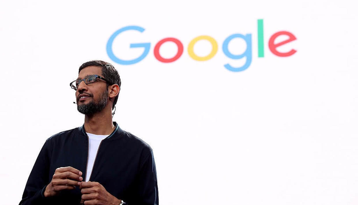 Pichai techno-sophical after blockbuster Google results