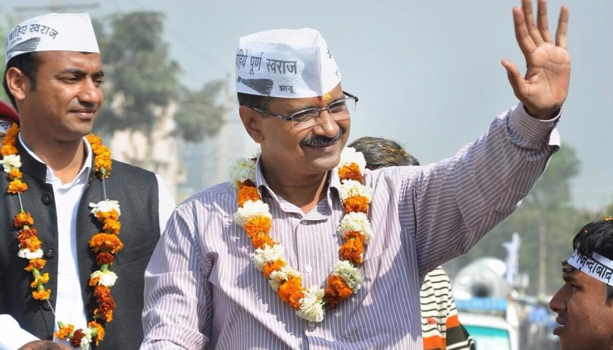 AAP stages protest against power tariff hike