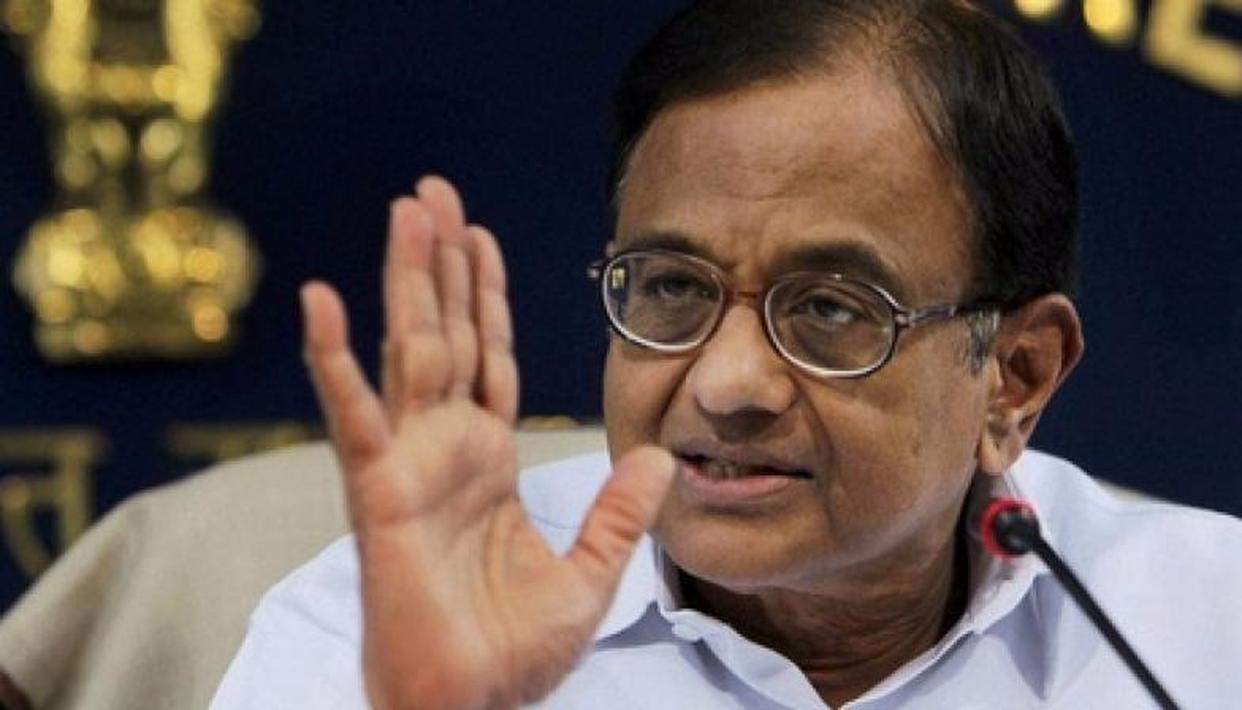 Chidambaram slams BJP