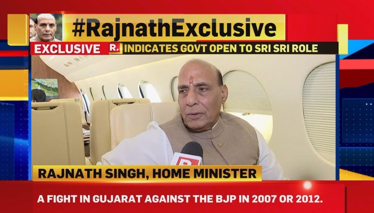 EXCLUSIVE INTERVIEW WITH RAJNATH SINGH