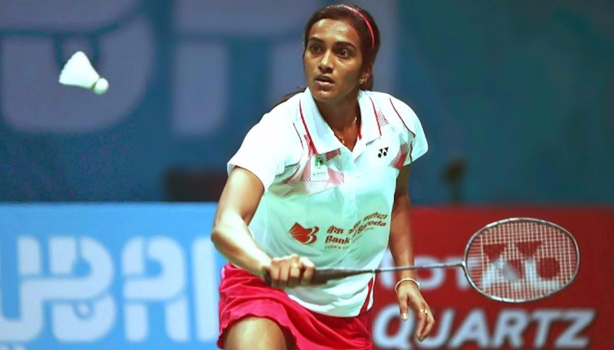 SINDHU CRASHES OUT