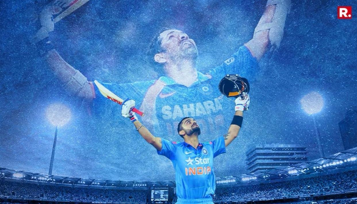 'VIRAT CAN BREAK SACHIN'S RECORD'