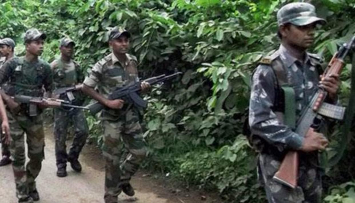 CRPF PUSHES BACK NAXALS