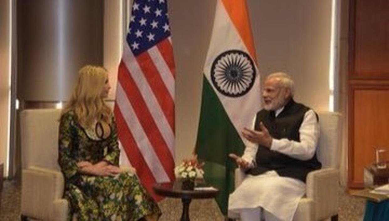 WATCH: PM MODI, IVANKA SPEAK AT GES 2017