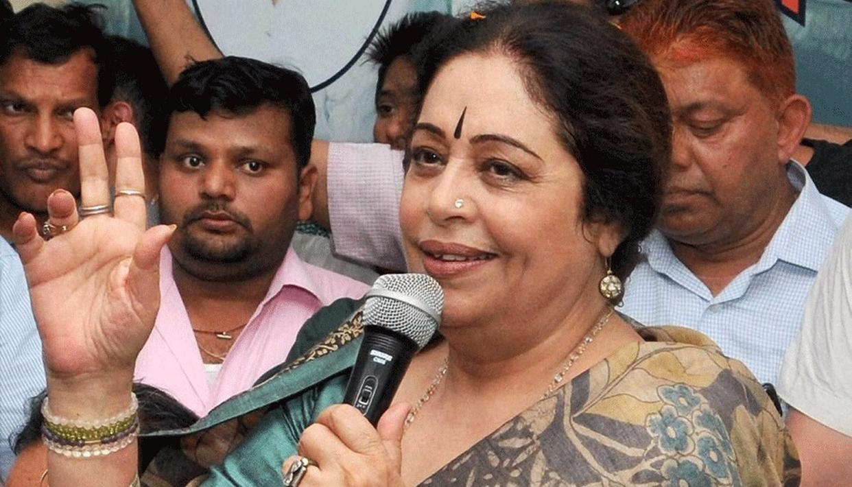 KIRRON KHER SPARKS CONTROVERSY