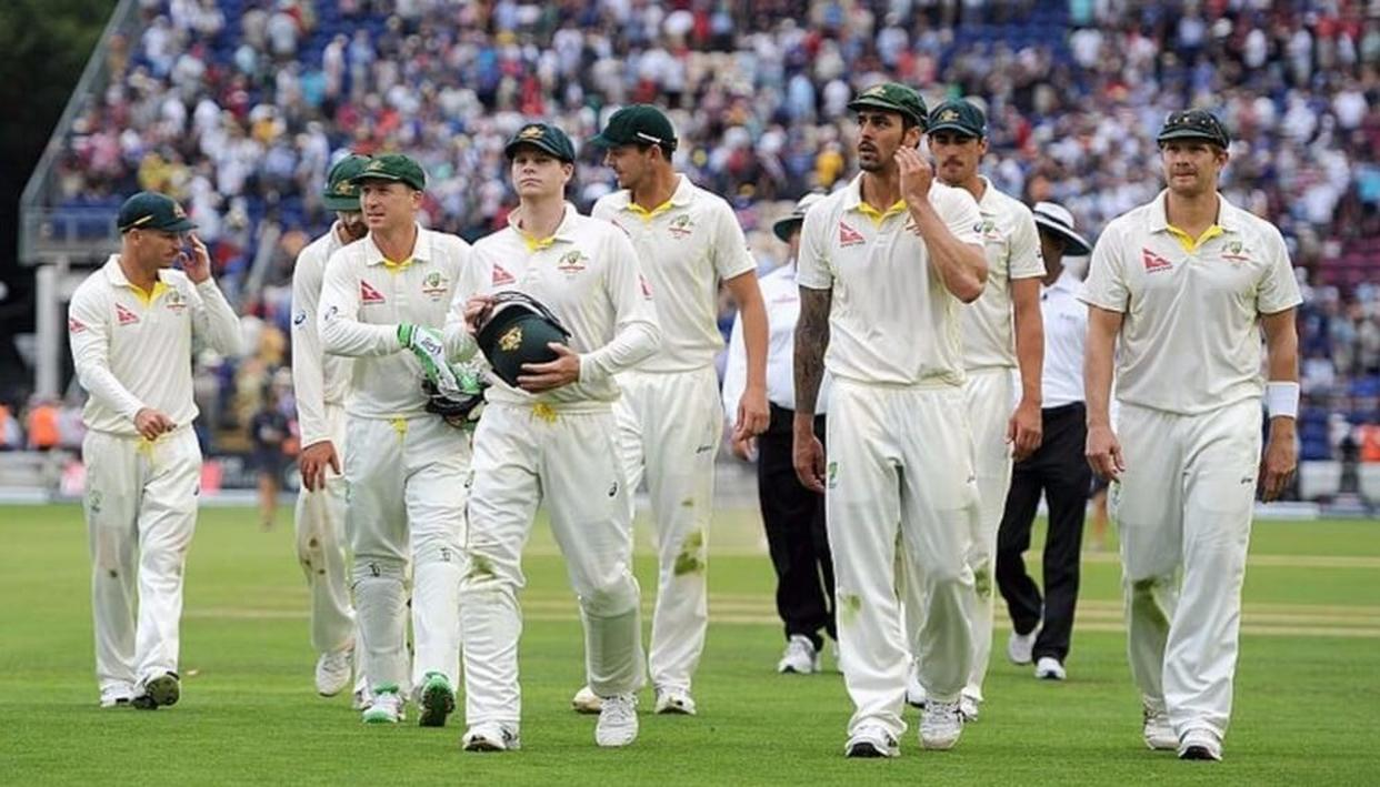 AUSSIE SQUAD FOR 2ND TEST