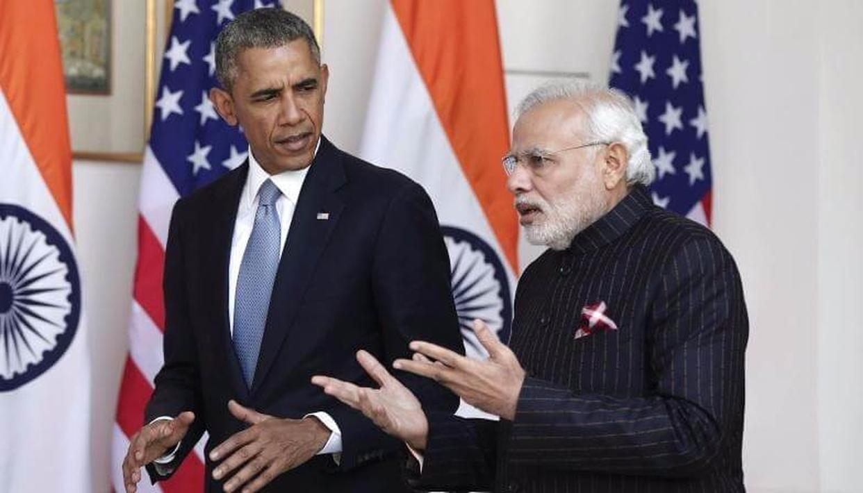 OBAMA'S LOVE AFFAIR WITH INDIA CONTINUES