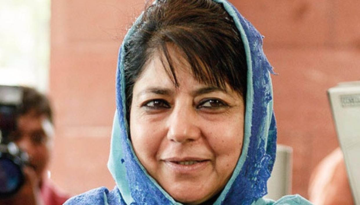 MEHBOOBA MUFTI RE-ELECTED