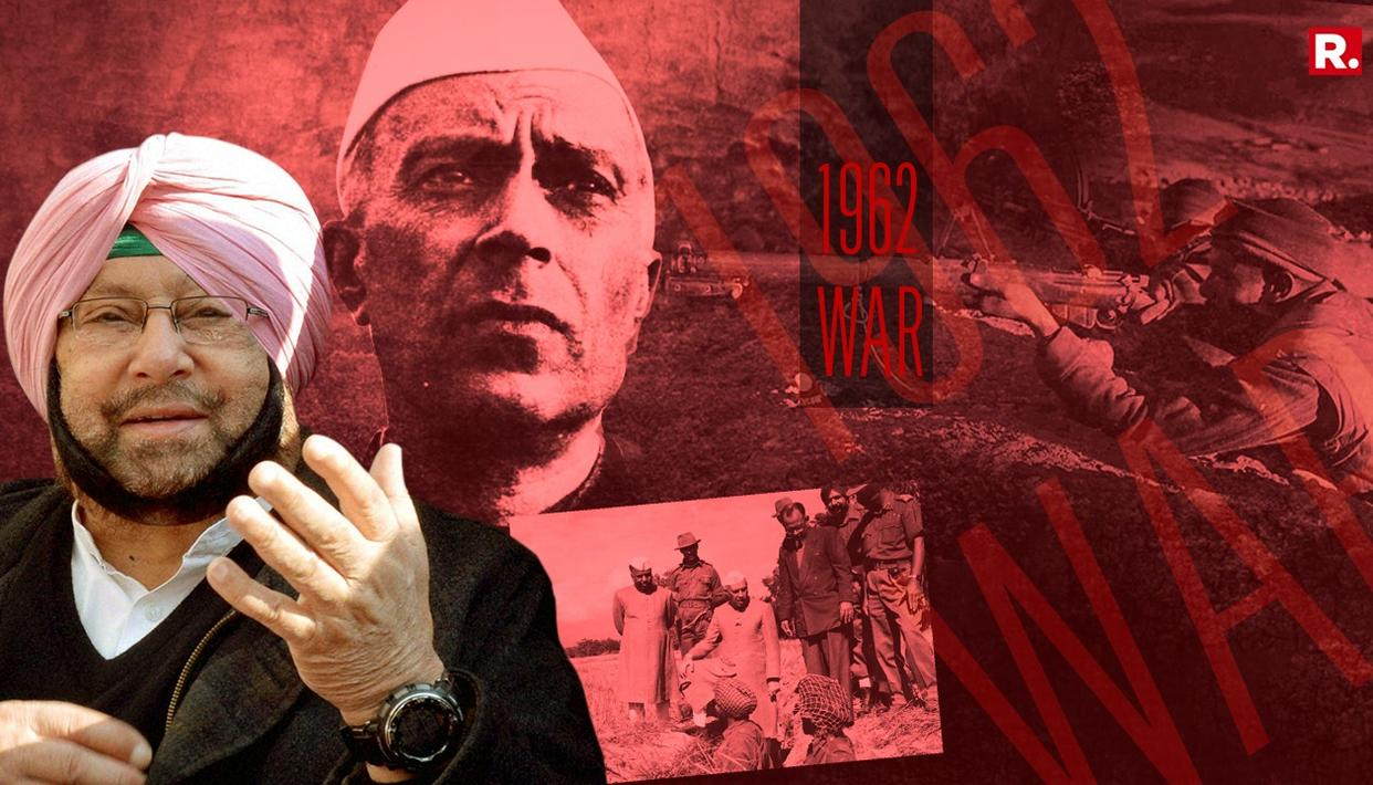 CAPTAIN HOLDS NEHRU RESPONSIBLE