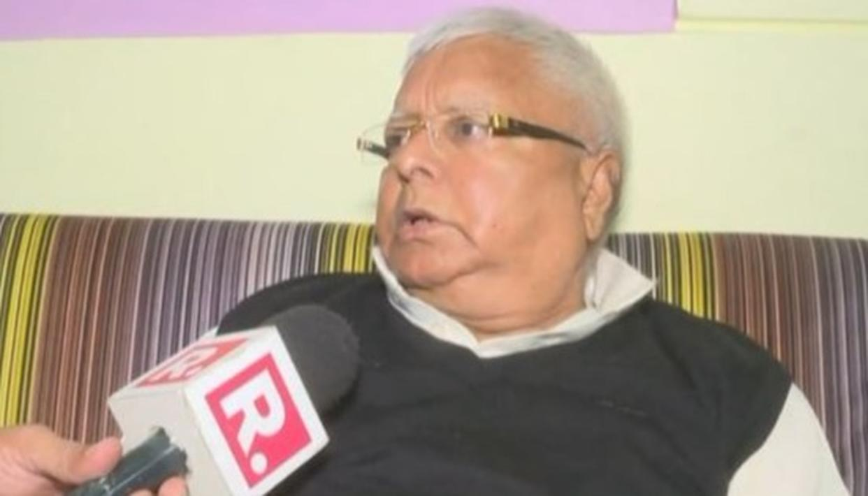 WATCH: LALU YADAV EXCLUSIVE