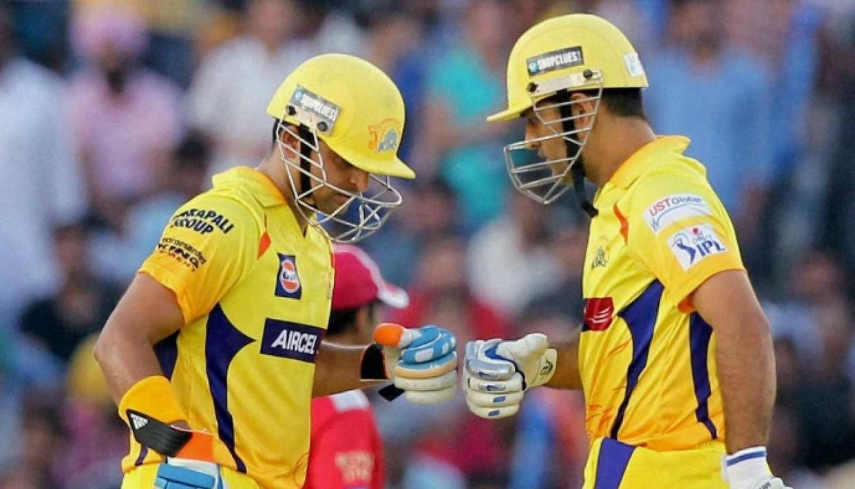 'BECAME A REAL CRICKETER AT CSK'