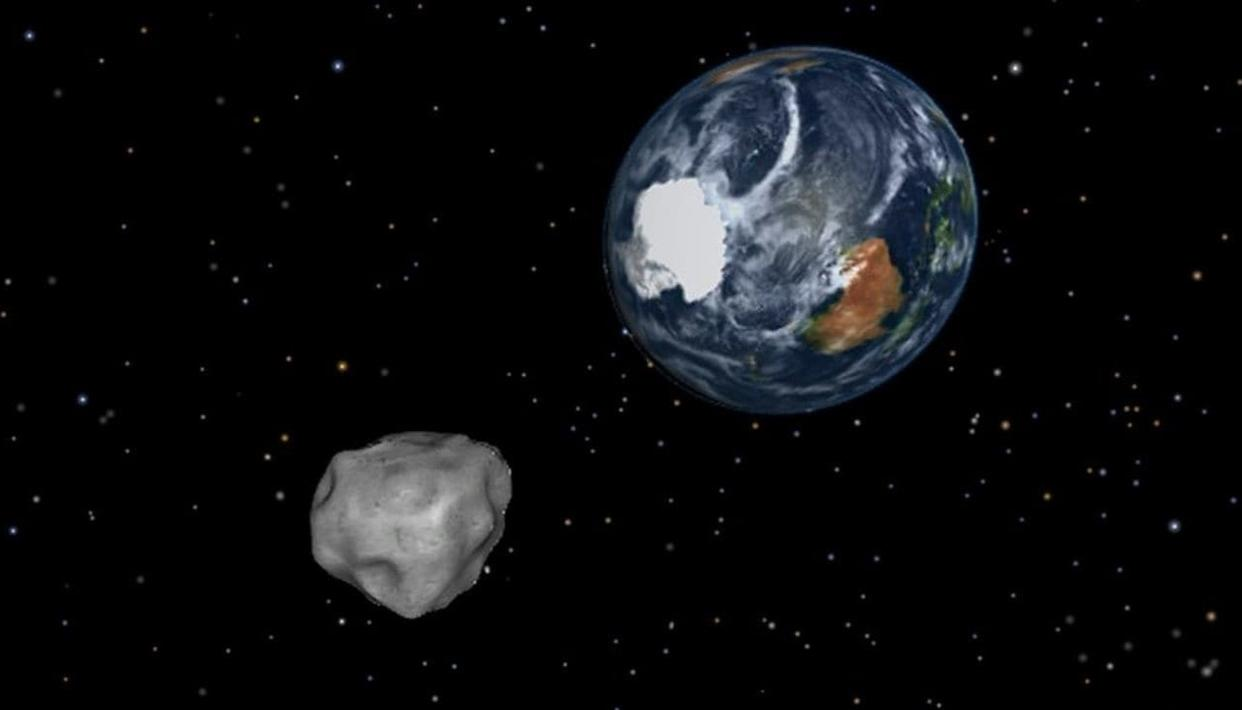 WATCH: ASTEROID THAT WILL MISS EARTH