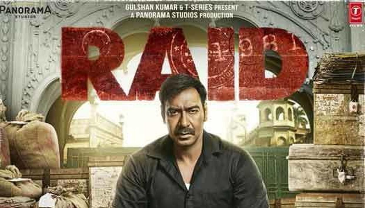 SEE THE FIRST LOOK OF 'RAID'