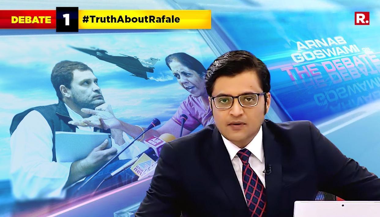 ARNAB SPEAKS ON #TruthAboutRafale