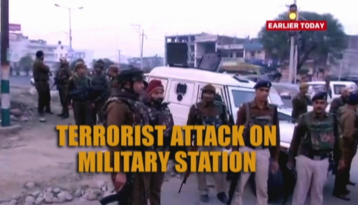 LATEST ON JAMMU TERROR ATTACK: ONE TERRORIST GUNNED DOWN