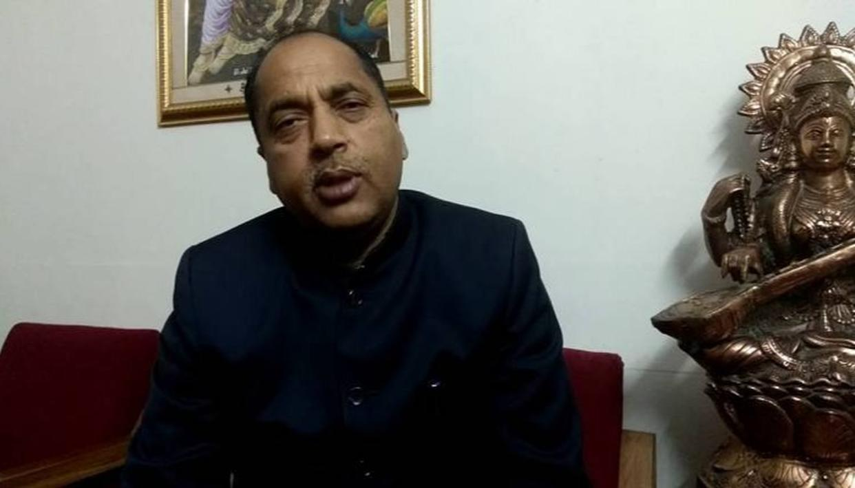 JAI RAM THAKUR HITS OUT AT THE CONGRESS