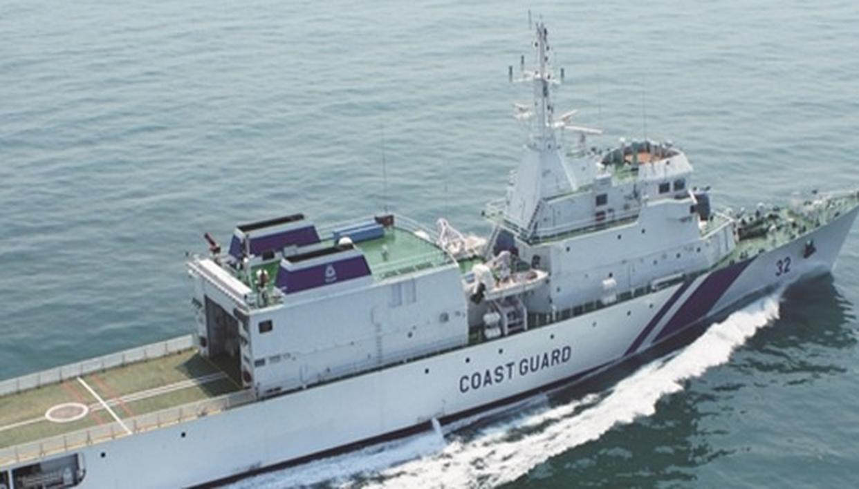 PRAISE FOR COAST GUARD IN SINGAPORE