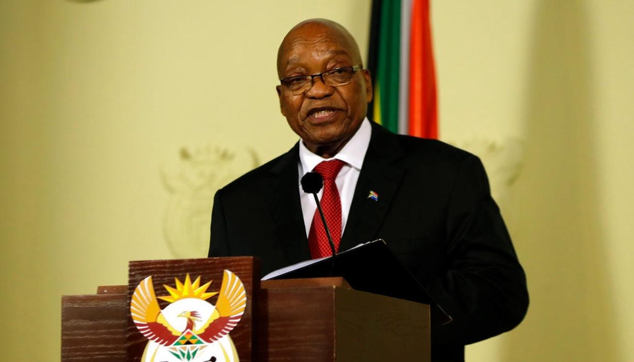ZUMA SUCCUMBS TO PRESSURE
