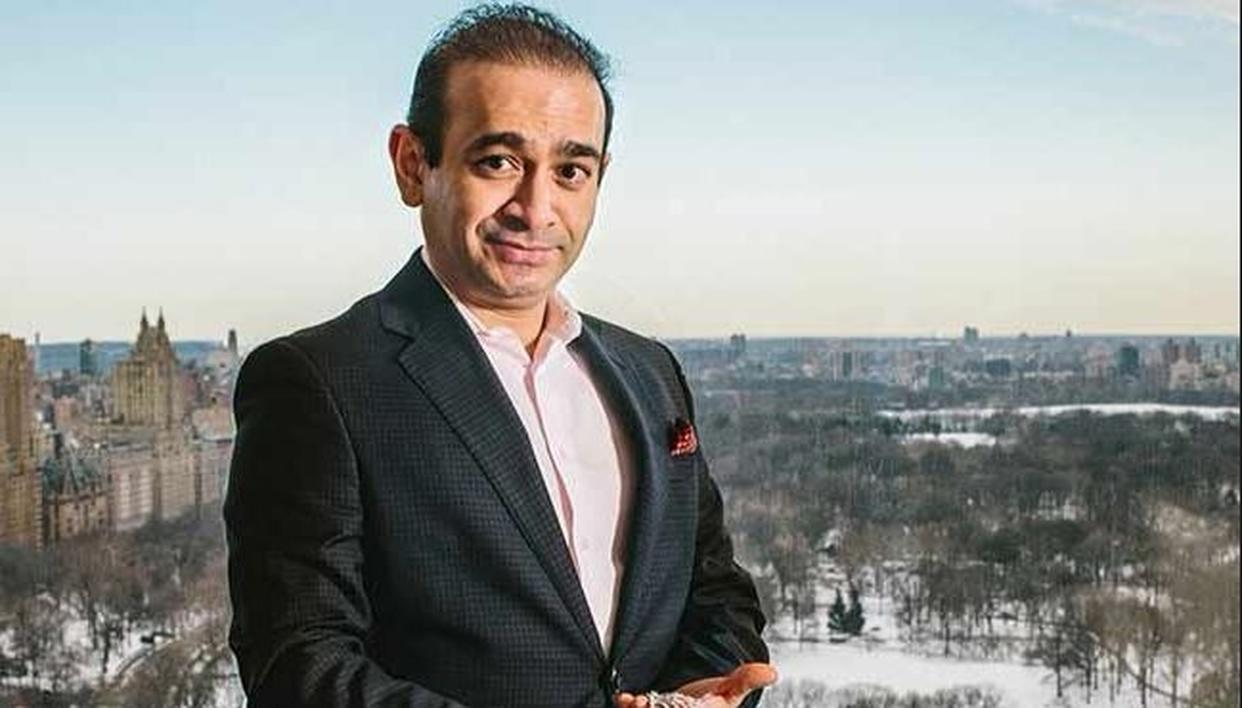 NIRAV MODI'S PASSPORT SUSPENDED