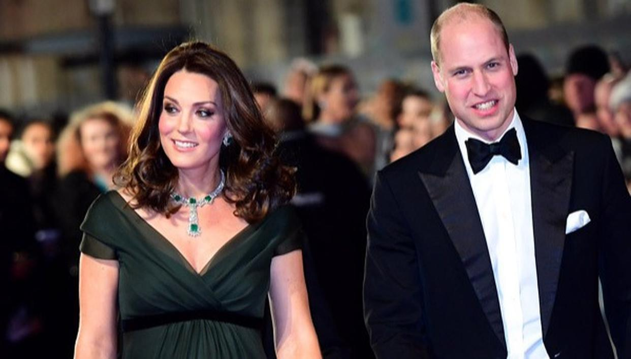 BAFTAs: KATE MIDDLETON DEFIES DRESS CODE