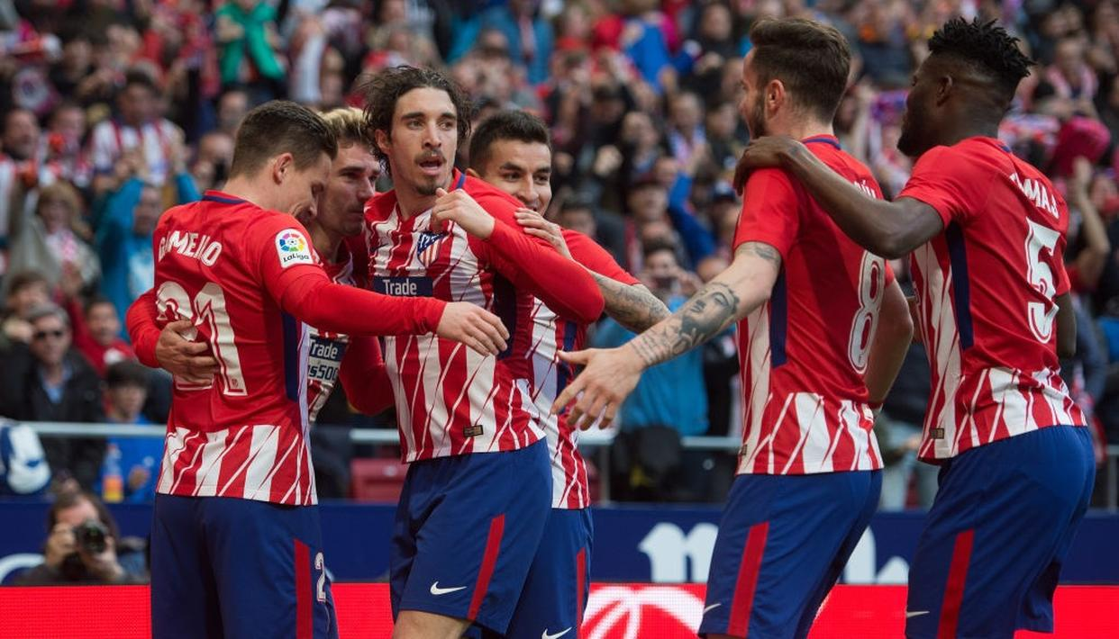 ATLETICO PUT PRESSURE ON BARCA