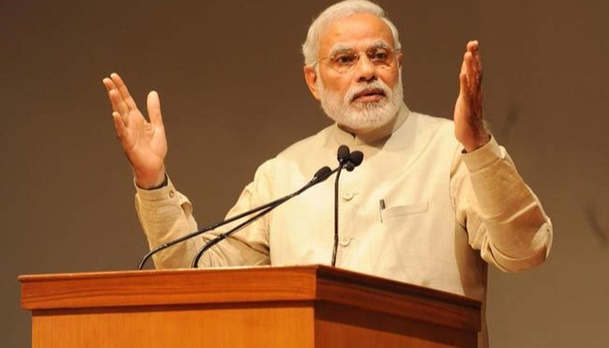 PM TALKS ABOUT INDIAN SOCIETY