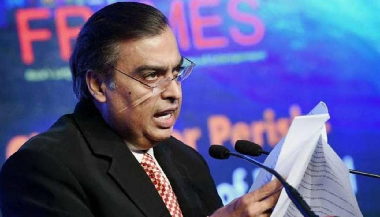 RELIANCE TO ACQUIRE STAKE IN EROS