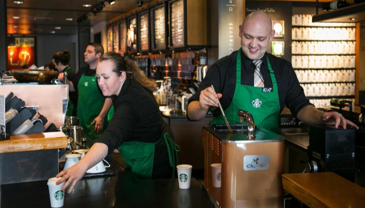 STARBUCKS IS THE BEST WORKPLACE IN RETAIL!