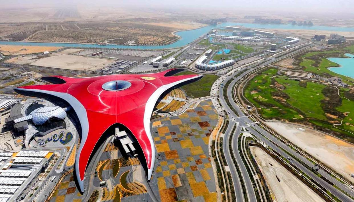 YAS ISLAND : TRAVELERS NEW DESTINATION