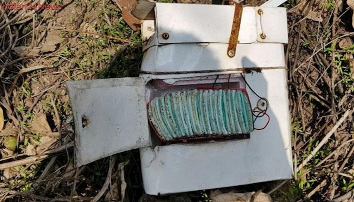 BOX WITH CHINESE WRITING FOUND IN ARUNACHAL
