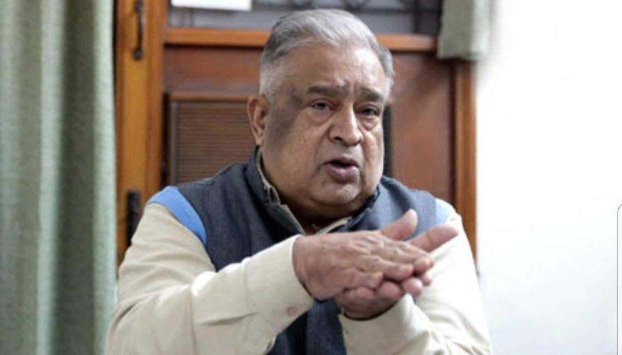 FMR CABINET SECRETARY TSR SUBRAMANIAN NO MORE
