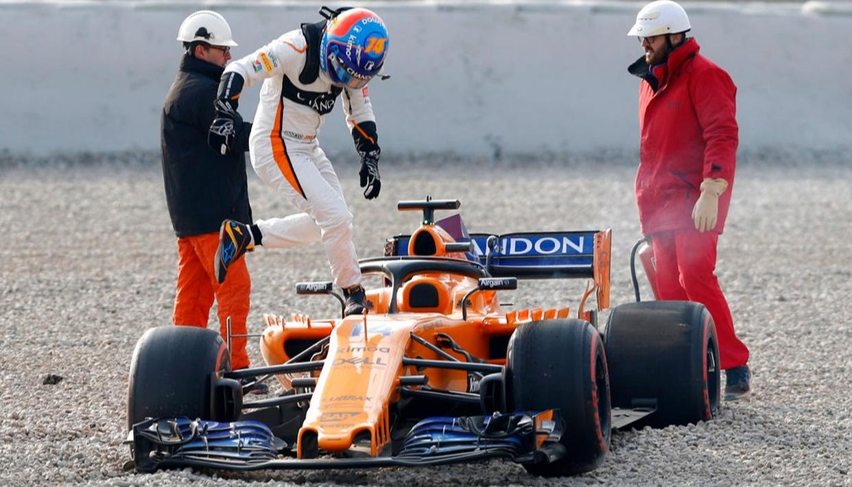 INAUSPICIOUS START FOR ALONSO