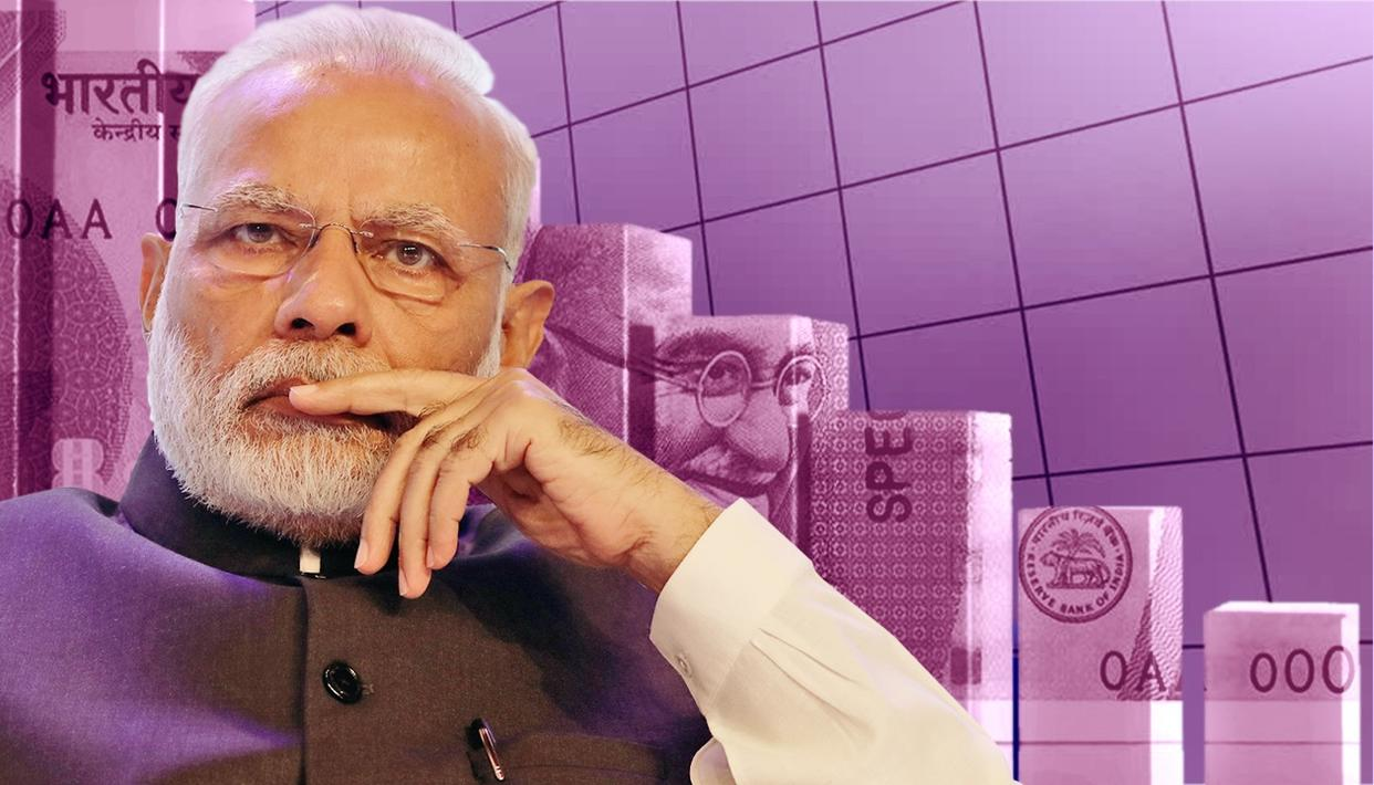 INDIA'S Q3 GDP GROWS 7.2%