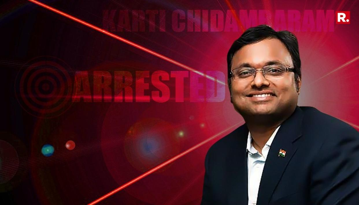 KARTI TO SPEND NIGHT IN JAIL