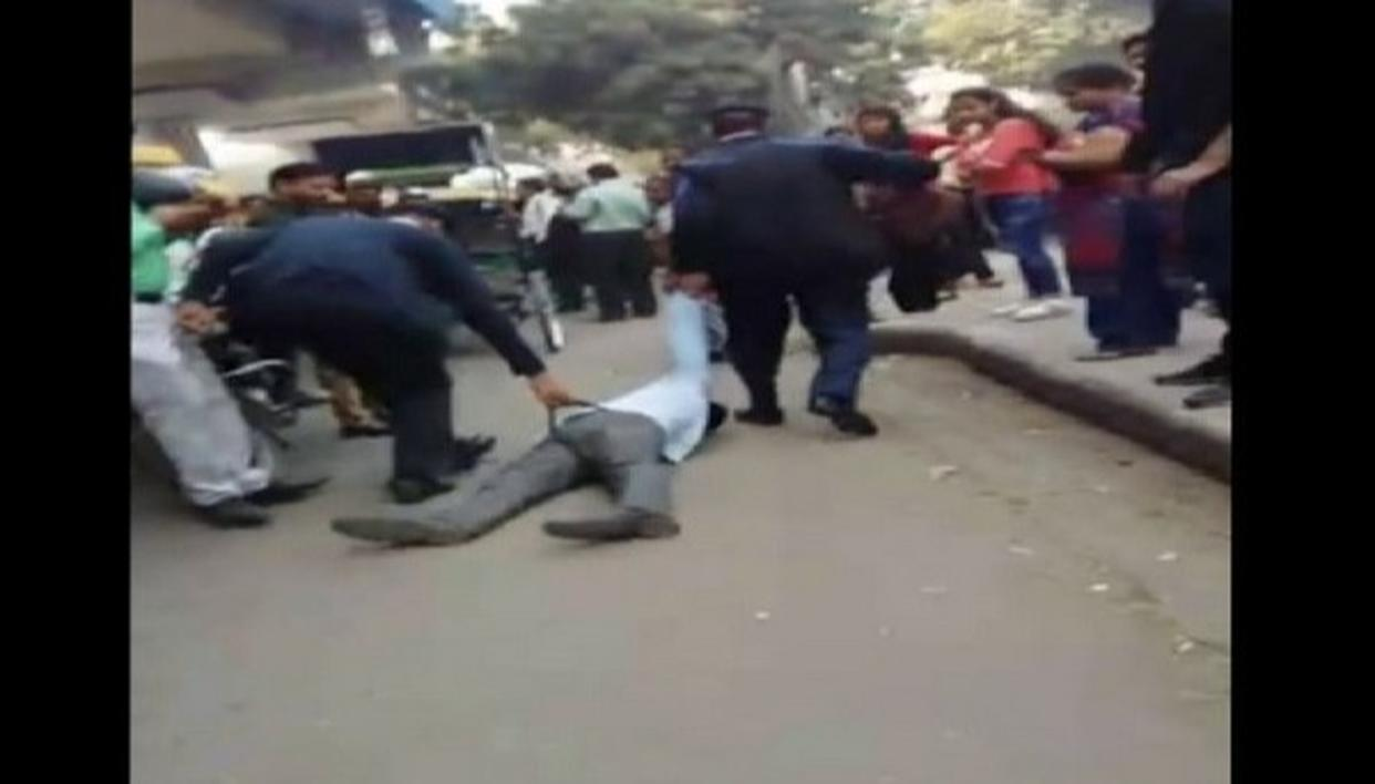 POLICE BRUTALITY CAUGHT ON CAM