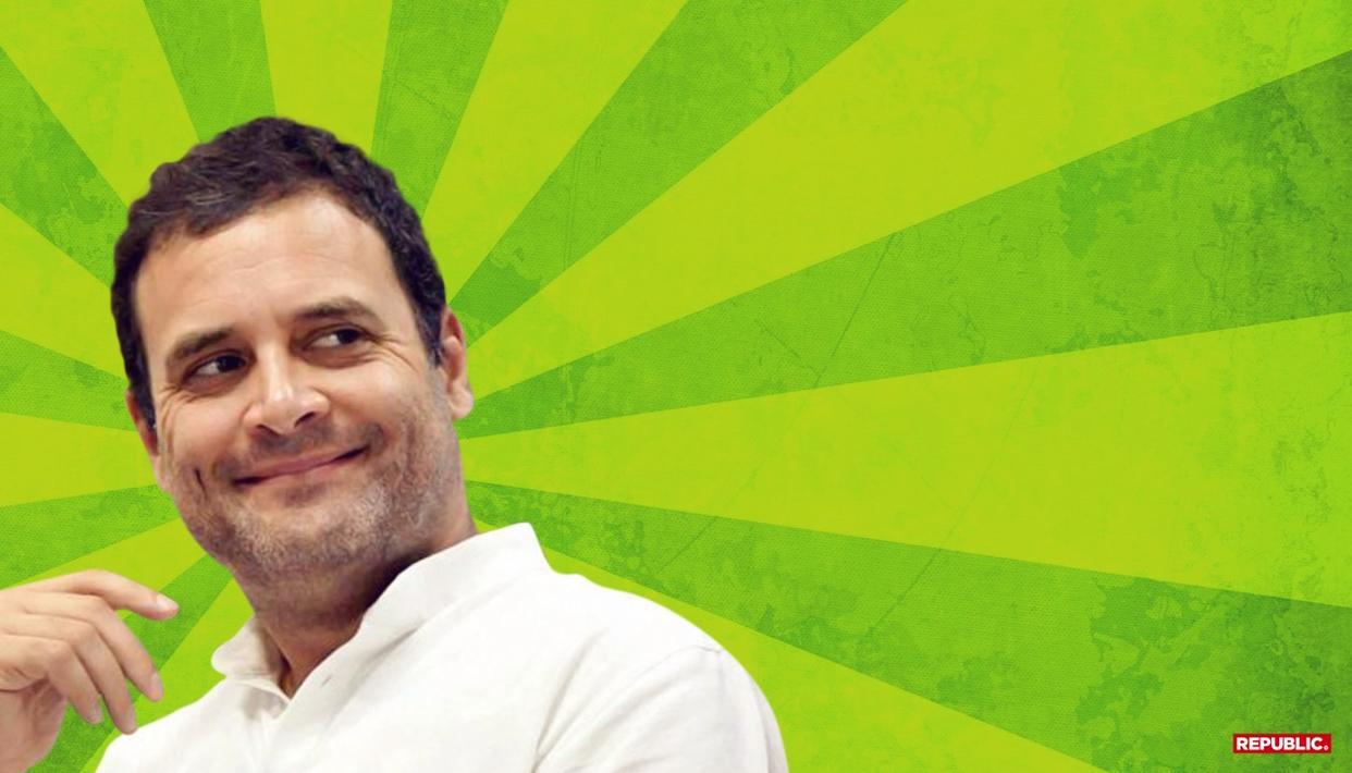 RAHUL BATS FOR 'SPECIAL CATEGORY STATUS FOR ANDHRA'