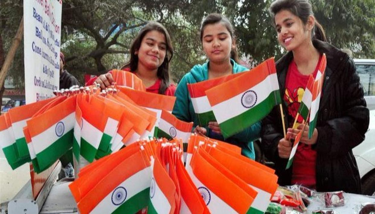 HC ORDERS TO BAN ON PLASTIC NATIONAL FLAGS