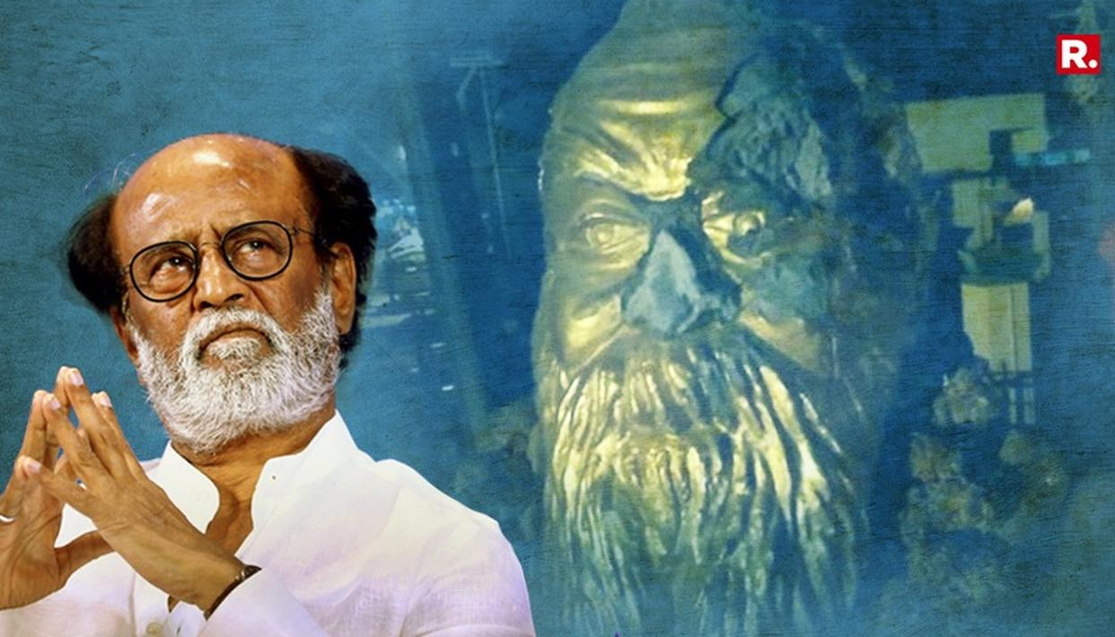 RAJINIKANTH BREAKS SILENCE ON #StatuePolitics