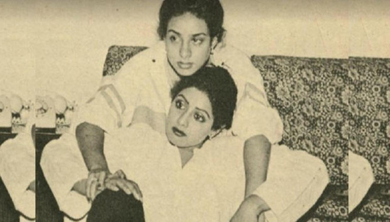 HERE'S WHY SRIDEVI'S SISTER IS SILENT