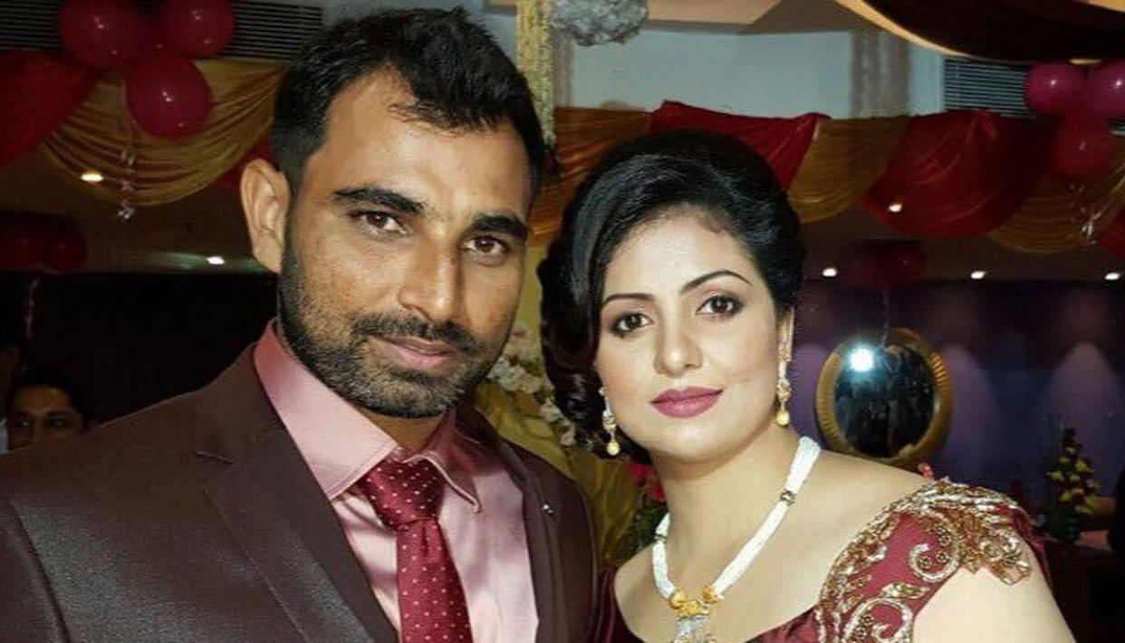 SHAMI'S WIFE SENDS COMPLAINT COPY TO COA
