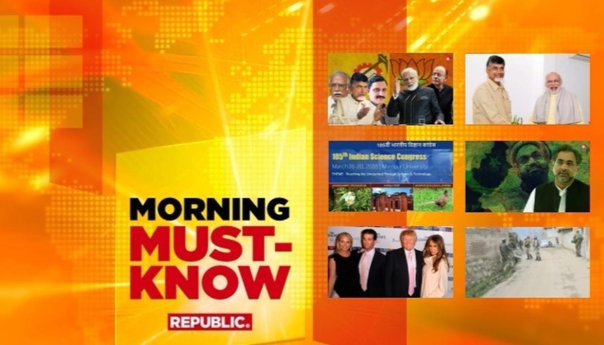 MORNING MUST KNOW: FRIDAY MARCH 16
